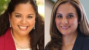 Delicia Herrera (left), a former member of the San Antonio City Council, and former Bexar County prosecutor Ina Minjarez (right) are on the ballot Tuesday in the runoff to replace Jose Menendez, now a state senator. The San Antonio Democrat vacated his seat in House District 124.