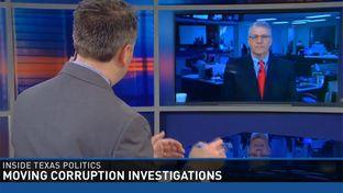 "Tribune Executive Editor Ross Ramsey talks to WFAA ""Inside Texas Politics"" host Jason Whitely on April 26, 2015."