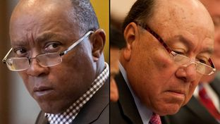"State Rep. Sylvester Turner, D-Houston and State Sen. Juan ""Chuy"" Hinojosa, D-McAllen."