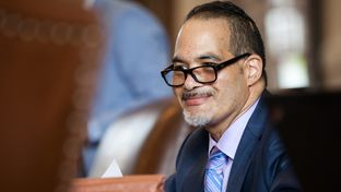 Garnet Coleman, D-Houston, on the House floor on May 7, 2015.
