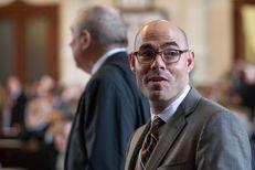 Dennis Bonnen, R-Angleton, on the House floor on May 7, 2015.