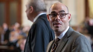 Dennis Bonnen, R-Angleton, on the House floor on May 7, 2015.