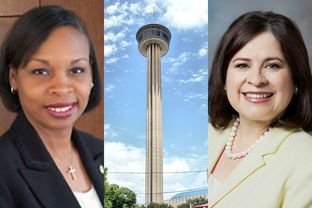 San Antonio Mayor Ivy Taylor (left) and former state Sen. Leticia Van de Putte are set for a runoff for the city's top job.