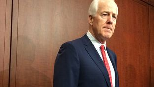 U.S. Sen. John Cornyn held a news conference at the U.S. Capitol on May 12, 2015.