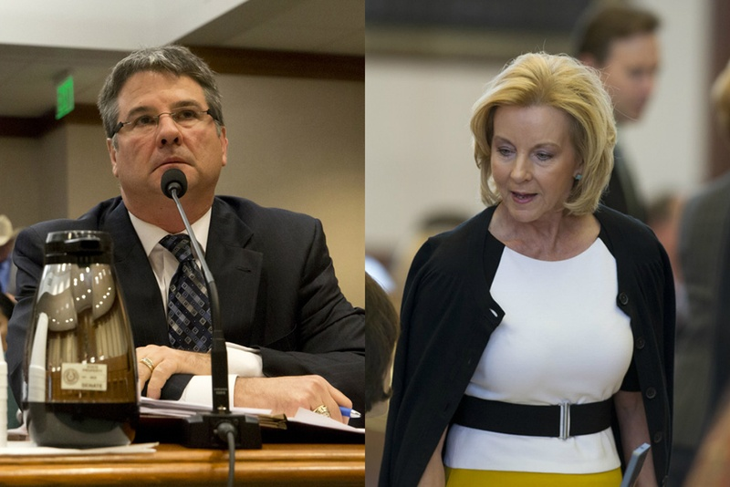 """State Sen. Charles Perry, R-Lubbock, and state Rep. Geanie Morrison, R-Victoria, are shepherding legislation to tighten the requirements on """"judicial bypass,"""" abortions."""