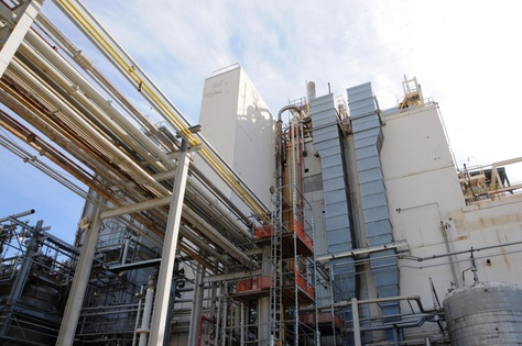 DuPont's chemical plant in La Porte. In November 2014, a toxic gas leak killed four workers inside a unit that manufactures a popular insecticide called Lannate.