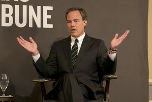 Speaker Joe Straus during June 9, 2015 Tribune Conversation