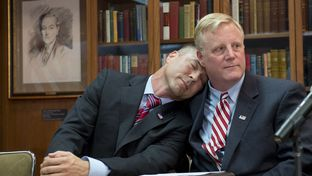 Vic Holmes and Mark Phariss of Plano at an LBJ Library press conference celebrating the U.S. Supreme Court decision legalizing same-sex marriage on June 26, 2015. Holmes and Phariss had sued Texas over its same-sex marriage ban.