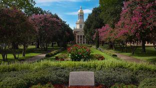 Baylor University in Waco, Texas.