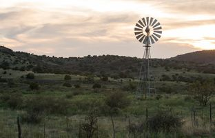 A general view of the landscape near where the Trans-Pecos pipeline is believed could run near Alpine.