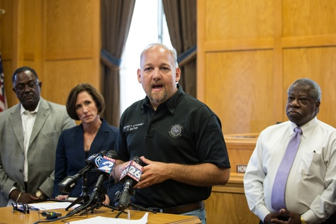 Waller County District Attorney Elton Mathis discusses the investigation of Sandra Bland's death at a July 17 news conference.