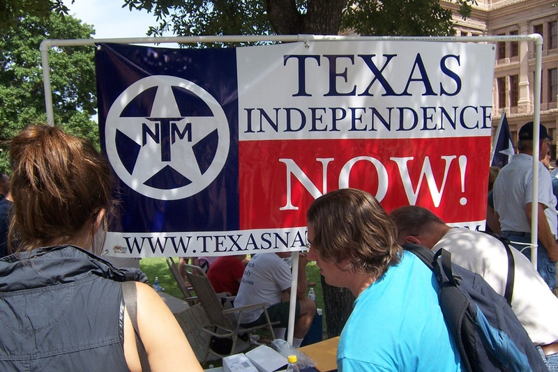 The Texas Nationalist Movement wants the state of Texas to secede from the United States. They have started a petition to get a referendum for secession on the Texas Republican primary ballot on March 1.