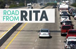 Fleeing before Hurricane Rita hit land on Sept. 24, 2005, evacuees faced a separate disaster on roads like Interstate 10. The chaotic evacuation contributed to more deaths than the storm itself. Officials say they are better prepared for the next evacuation.