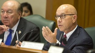 Sen. John Whitmire D-Houston during a September 22 Senate Criminal Justice Committee hearing