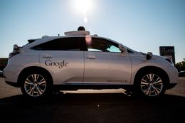 Google's self-driving car test drives and maps roads in Austin, TX.
