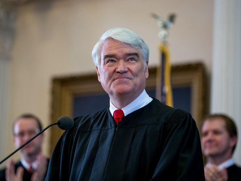 Texas Supreme Court Chief Justice Nathan Hecht