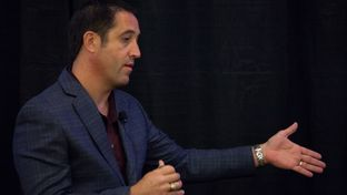 Texas Comptroller Glenn Hegar was interviewed by Texas Monthly Senior Editor Erica Grieder on Oct. 17, 2015.
