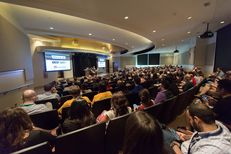 Texas Tribune Festival attendees attended a pre-Festival recording of the TribCast on Oct. 16, 2015. The recording featured special guests from our presidential podcast — The Ticket 2016 — and Reveal, a program from the Center for Investigative Reporting.