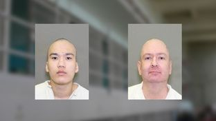 Gabriel Hall and James Calvert were the first inmates received on Texas' death row in 2015.
