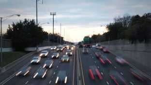 On Nov. 3, Texas voters will be asked to consider Proposition 7, a constitutional amendment created to address the state's growing transportation needs. This photo shows traffic in Dallas.