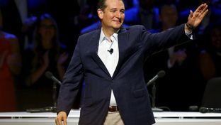 Sen. Ted Cruz at the third GOP debate, held in Boulder, Colorado, on Oct. 28, 2015.