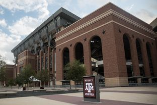 Kyle Field at Texas A&M University in College Station.