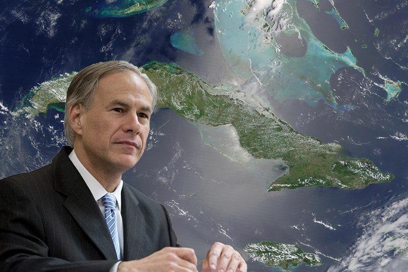 Gov. Greg Abbott is on a three-day visit to Cuba.