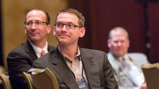 "Texas' new education commissioner, Mike Morath, attended a keynote luncheon titled ""Education Freedom and the American Future"" on Jan. 7, 2016 at the conservative Texas Public Policy Foundation's annual policy forum."