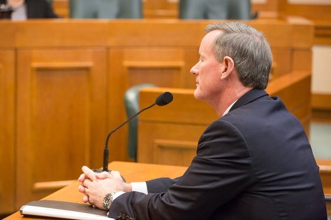 On Jan. 20, 2016, the Texas House Higher Education Committee discussed efforts to grow educational programs with University of Texas System Chancellor Bill McRaven.