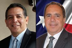 John Lujan, left, and Tomas Uresti, right, face off Tuesday in a special election runoff in state House District 118. The winner will replace former state Rep. Joe Farias, D-San Antonio, who resigned in August.
