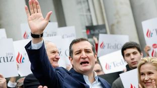 Ted Cruz files his candidacy in the 2016 New Hampshire Primary on Nov. 11, 2015.