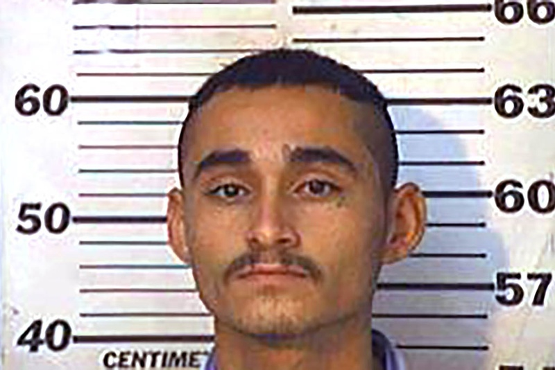 Victor Reyes, shown in 2001 jail mug shot from Hidalgo County. Authorities say Reyes, an undocumented immigrant, went on a January 2015 shooting spree in Harris County that killed two and wounded three.