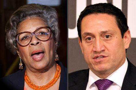 State Rep. Senfronia Thompson, D-Houston, and state Rep. Trey Martinez Fischer, D-San Antonio.