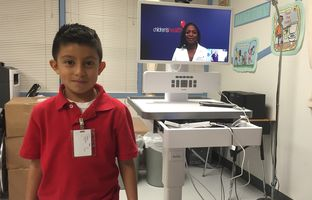 In 2013, a telemedicine initiative run by Children's Health hospital system in North Texas began at two preschools. Today, there are screens and carts in 57 urban and rural campuses.