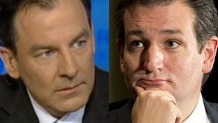 On Feb. 22, U.S. Sen. Ted Cruz, right, asked for the resignation of campaign spokesman Rick Tyler, left.
