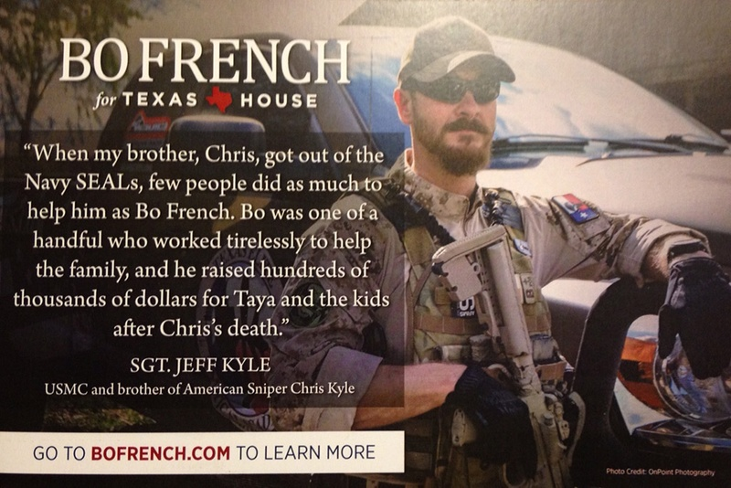 Chris Kyle Widow Demands Bo French Stop Using Him in Campaign | The