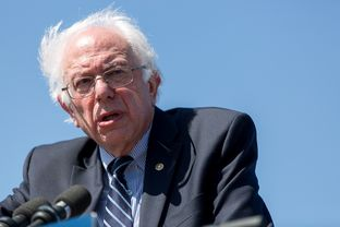 Vermont Senator and presidential hopeful Bernie Sanders speaks to supporters in Austin, Texas on Feb. 27, 2016.