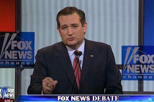 U.S. Sens.Ted Cruz at the GOP presidential debate in Detroit, Michigan on March 3, 2016.