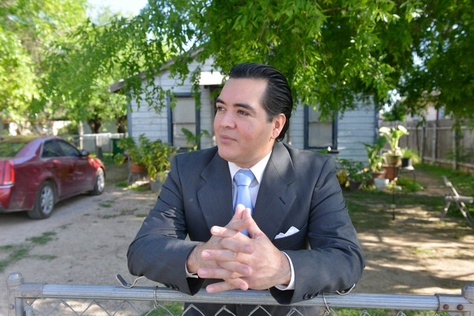 Former Crystal City Mayor Ricardo Lopez, who resigned after being indicted along with four of five city councilmen, is running for re-election in the small South Texas town.