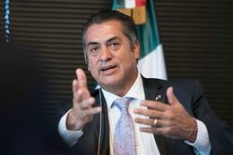 "Jaime Heliodoro Rodríguez Calderón, sometimes referred to by his nickname ""El Bronco,"" is the governor of the northern Mexico state of Nuevo León."