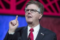 Lt. Gov. Dan Patrick assures the audience at the Freedom, Faith and Fellowship event May 12, 2016 that he will uphold conservative principles as leader of the Texas Senate in 2017.