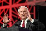 U.S. Sen. Jeff Sessions, R-Alabama, served as surrogate for presumptive Republican presidential nominee Donald Trump at the state Republican convention in Dallas, Texas on May 14, 2016.
