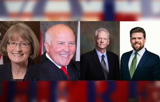 Republican candidates for the Texas Court of Criminal Appeals faced off in the May 24 runoff. Place 2: Mary Lou Keel and Ray Wheless; Place 5: Scott Walker and Brent Webster.