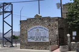 St. Francis Xavier Catholic Church, which sits two blocks from Bridge of the Americas in El Paso, is one of several shelters in place for Cuban immigrants that have been arriving to Texas in record numbers.