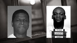 Death row inmates Duane Buck, left, and Bobby James Moore