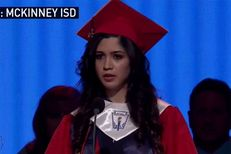 Larissa Martinez, valedictorian at McKinney Boyd High School, revealed that she is undocumented last week during her graduation speech.