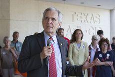 U.S. Rep. Lloyd Doggett, D-Austin, at a gun control rally June 29, 2016 near the Texas Capitol.