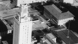 The UT Tower in Austin, Texas.