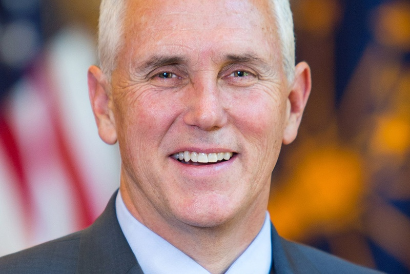Low-key Trump intro for 'my partner,' running mate Pence
