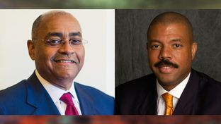 Outgoing state Sen. Rodney Ellis, D-Houston, and state Rep. Borris Miles, D-Houston, chosen by a majority of precinct chairs to replace him.